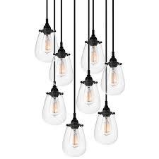 chelsea multi light pendant by sonneman best pendant lighting