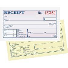 adams dc money rent receipt books sheet s tape bound  money rent receipt books view large image view huge image front frontmaximum original hero shot