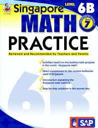 singapore math practice supplemental workbook level b singapore math practice supplemental workbook level 6b 1321330