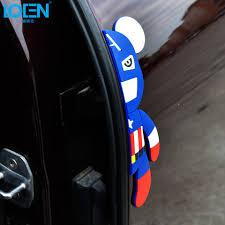 LOEN <b>Car Styling Car Door Protector Trim</b> 3D Sticker <b>Door</b> Side ...