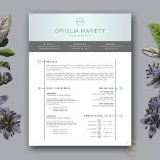 modern resume template   cv design  resume templates on creative    modern resume template