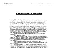 anecdote examples in essay  wwwgxartorg anecdotes example for essays raenak have you forgotten how good anecdote essay examples