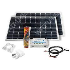 <b>Solar panel kit</b> Camping car - 200Wc - <b>12V</b>
