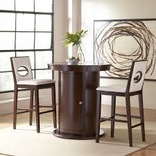 size dining room contemporary counter: modern  pieces counter height dining set with white upholstered hole back barstools full