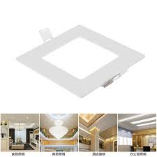 3-24W Dimmable LED <b>Ceiling Panel Light</b> Downlight Recessed ...