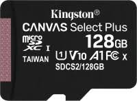 <b>Карта памяти Kingston</b> microSDXC <b>Canvas</b> Select Plus 128 ГБ