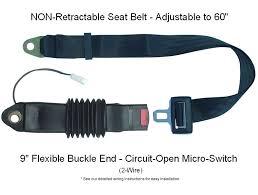 forklift seat belts seat belt webbing width is 1 7 8 inch