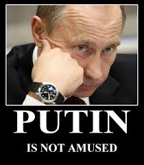 Putin not amused | Trashcat Is Not Amused | Know Your Meme via Relatably.com