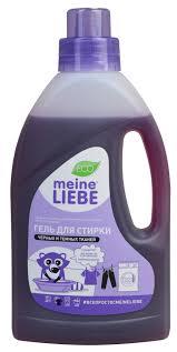 Купить <b>гель для стирки тёмных</b> и чёрных тканей Meine Liebe в ...