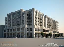 the palms an art deco throwback urbanize la art deco office building