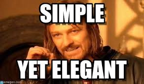 Simple - One Does Not Simply meme on Memegen via Relatably.com