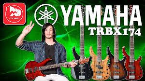 <b>Бас</b>-<b>гитара YAMAHA TRBX174EW</b> - гитара с верхней декой из ...