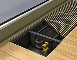 <b>Водяные внутрипольные конвекторы</b> отопления: их виды и ...
