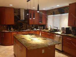 Granite Kitchen Counter Top Val D Desert Dream Granite Kitchen Countertop Island And Table