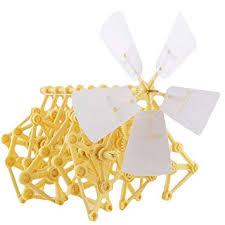 LA HAUTE DIY Assembly <b>Toys Wind Powered Mini</b> Strandbeest ...