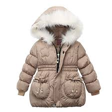 Sunward 1-3 Years <b>Children Kids</b> Girls <b>Winter Coats Jacket</b> Zip ...