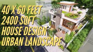 <b>40 X 60</b> Feet | 12 X 18 Mtr | 2400 Sqft House Design & Interior ...
