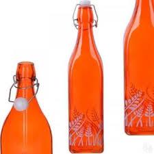 Купить <b>Бутылка для напитков LORAINE</b>, 1 л, оранжевый ...