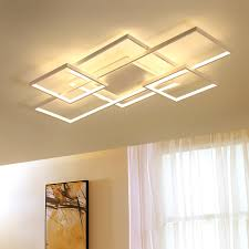 New Square frame <b>led</b> Chandelier For Livingroom Bedroom Home ...