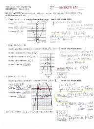 Lindblom Math and Science Academy U  L  Quadratics HMWK      KB