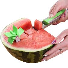 2019 <b>Watermelon Slicer Cutter</b> Tongs Corer Fruit Melon Stainless ...