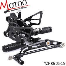 Motoo - <b>Full CNC</b> Aluminum <b>Motorcycle</b> Footpeg <b>Adjustable</b> ...