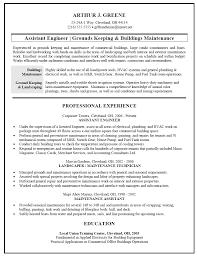 cover letter template for  maintenance resume samples  digpio usresume