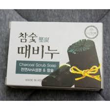 <b>Мыло</b>-<b>скраб</b> Mukunghwa Charcoal Scrub Soap Lu'Sob Bar ...