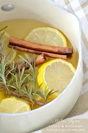 Lemon and Rosemary Simmering Potpourri | Mother Thyme