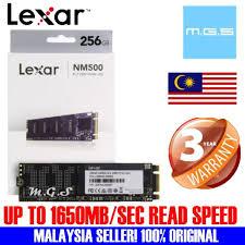 ORIGINAL <b>LEXAR NM500</b> NVME M2 2280 SSD (<b>128GB</b>/ 256GB ...