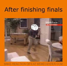 After Finishing Finals by recyclebin - Meme Center via Relatably.com