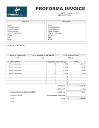 proforma invoice sample invoice template ideas proforma invoice sample sample of proforma invoice for export invoice template 2016 1275 x 1650