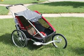 Image result for chariot double stroller