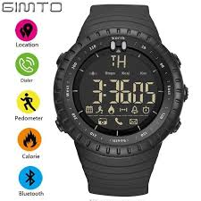 GIMTO Smart <b>Watch Men</b> LED Eletronicos Digital <b>Outdoor Sport</b> ...