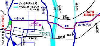 「小名木川地図」の画像検索結果
