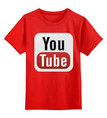 Купить одежду с логотипом Ютуб, футболки Youtube на заказ в ...