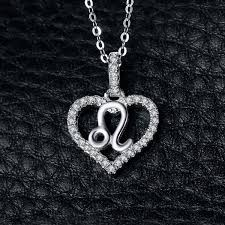 2019 <b>JewelryPalace Zodiac</b> Constellatio Leo Heart Love Cubic ...