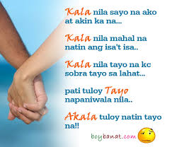 Pinoy Bitter Quotes and Tagalog Bitter Love Quotes - Boy Banat via Relatably.com
