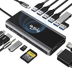 USB C Hub, 15-in-1 USB C Docking Station to HDMI ... - Amazon.com