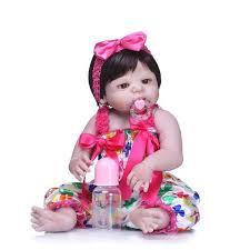 Online Shop <b>bebes reborn</b> full silicone reborn <b>baby dolls handmade</b> ...