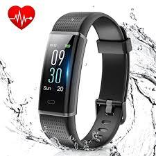 Muzili <b>Smart</b> Band IP68 Waterproof Fitness Tracker with <b>Heart Rate</b> ...