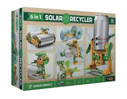 <b>6 in 1 Solar</b> Recycler - Fun Green Energy!