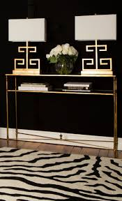 chic black and gold accents from joss and main chic zebra print rug