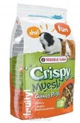 <b>Корм</b> для морских свинок <b>Versele</b>-<b>Laga Crispy</b> Muesli Guinea Pigs ...