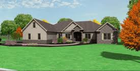 Ranch House Plans  New Ranch Houseplans  Pennsylvania Ranch House    ranch house plans New