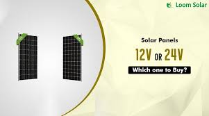 How to Choose Between a <b>12V</b> and <b>24V Solar Panel</b>?