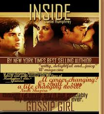Inside by Dan Humphrey, book cover in Gossip Girl Season 5