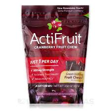 ACTIFRUIT CRANBERRY FRUIT CHEW 20 ... - Walsh Natural Health