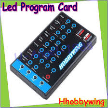 Online Shop <b>Hobbywing</b> RC Car Program Card LED Program Box ...