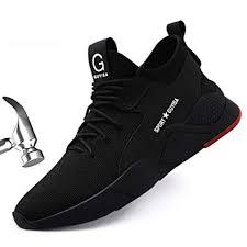 Ceville Men's Steel Toe Work Safety Shoes ... - Amazon.com